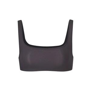 SKIMS Wireless Body Basics Wide Neck Bralette - Black - Size XXS