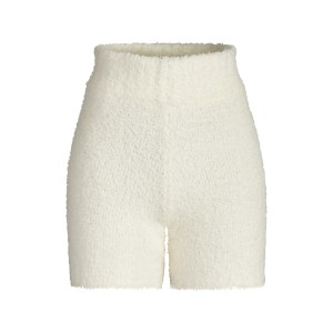 SKIMS Cozy Knit Short - White - Size 4XL/5XL