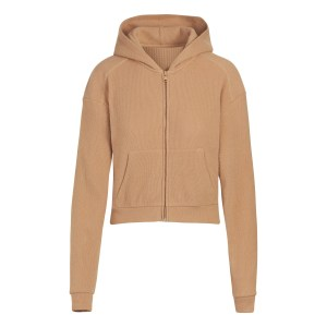 SKIMS Waffle Hoodie - Nude - Size 4XL