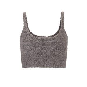 SKIMS Wireless Cozy Knit Bralette - Gray - Size XXS/XS