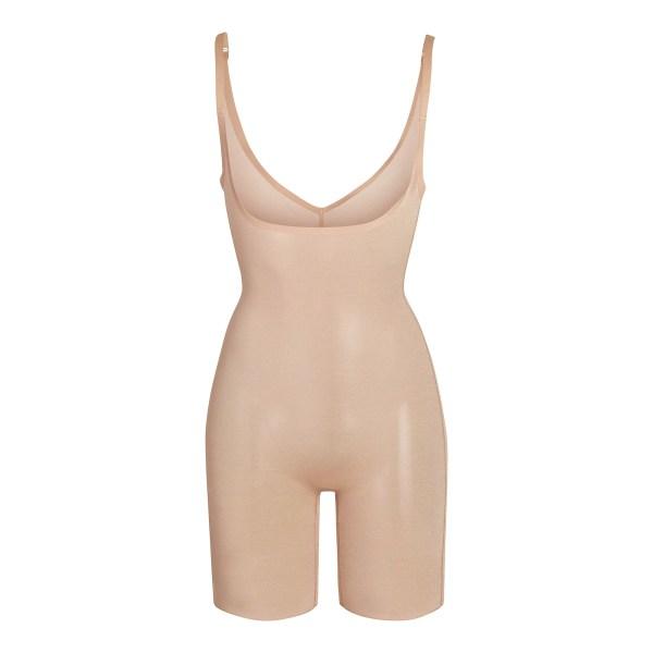 SKIMS Mesh Sheer Sculpt Bodysuit Shapewear - Nude - Size 4XL