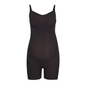 SKIMS Maternity Sculpting Bodysuit Mid Thigh - Black - Size 4XL/5XL