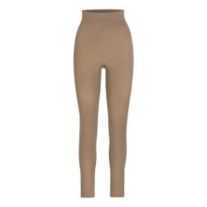 SKIMS Women's Sculpting Legging Shapewear - Brown - Size XXS/XS