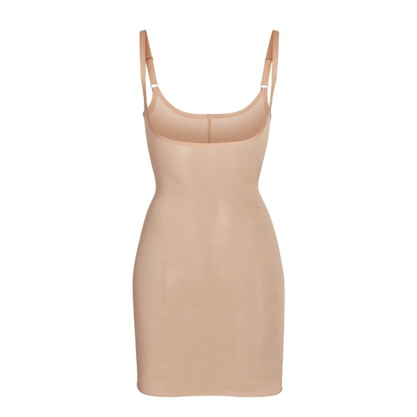 SKIMS Mesh Sheer Sculpt Slip Shapewear - Nude - Size 4XL