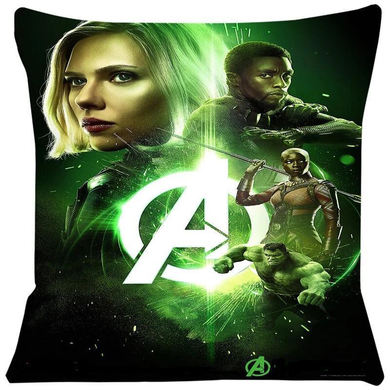 avengers home decorative pillow case