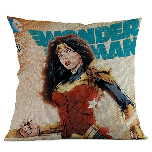 wonder woman decorative pillow case