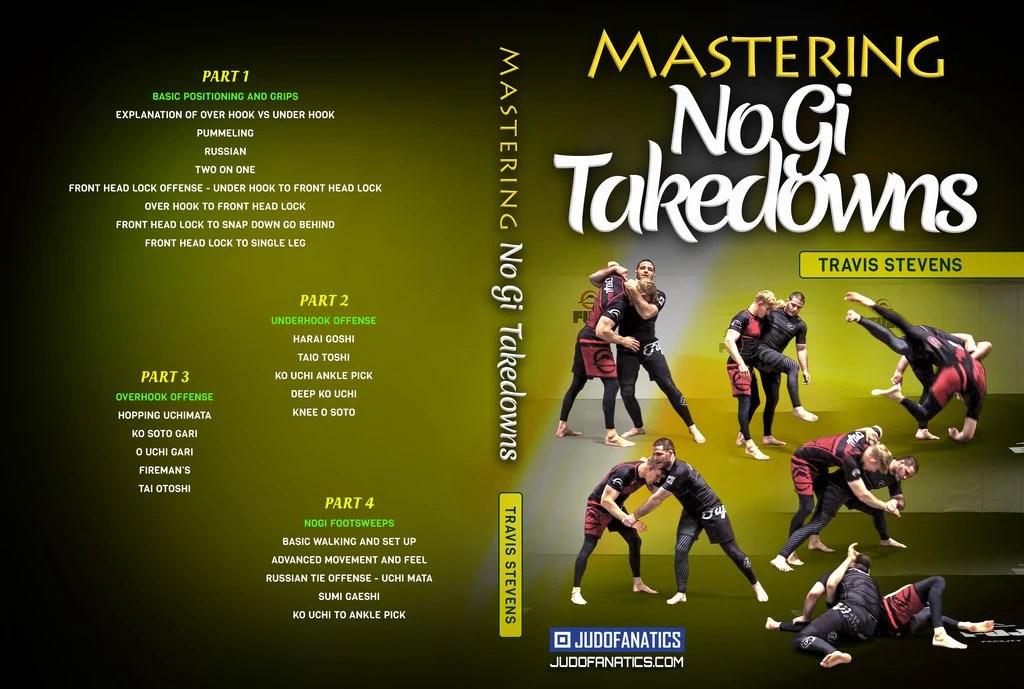 mastering nogi takedowns for jiu jitsu