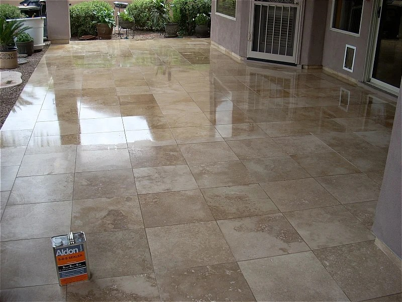 what are travertine sealers and how to