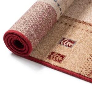 tapis ethnique oriental en laine mazir