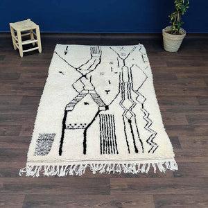 tapis azilal symboles berberes 130x235 cm