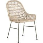 Bandera Indoor Outdoor Wicker Dining Chair The Design Tap