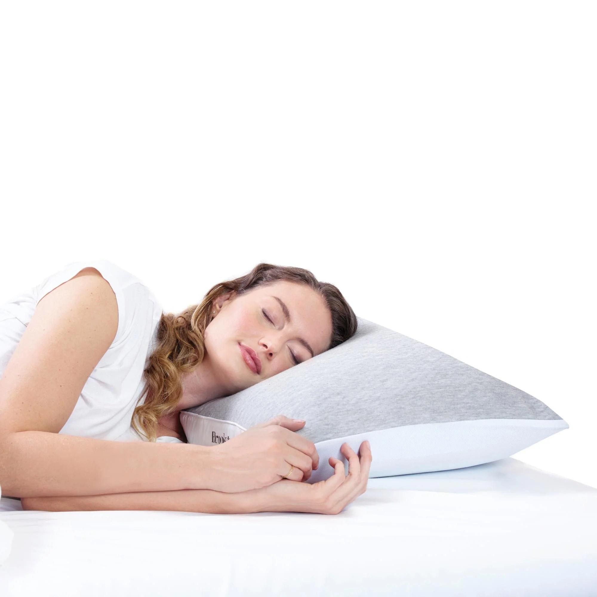 brookstone charcoal embrace pillow