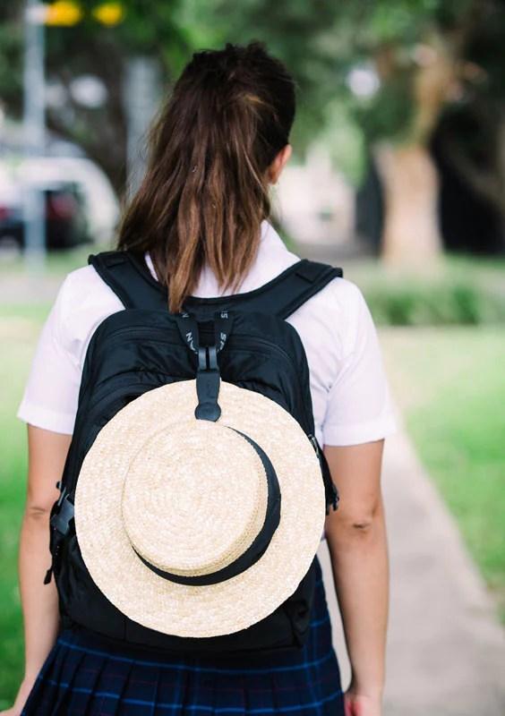 School Hat Clip Klipsta