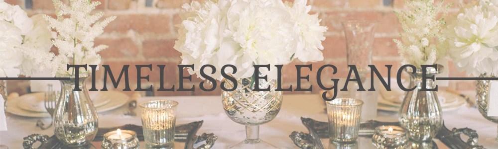 Timeless Elegant Wedding Table Decorations The Wedding