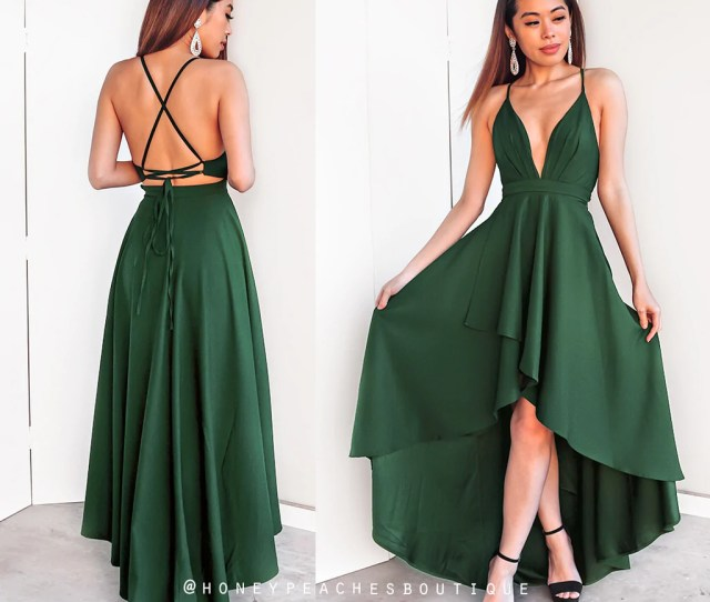 This Love Is Forever Dress Emerald Green