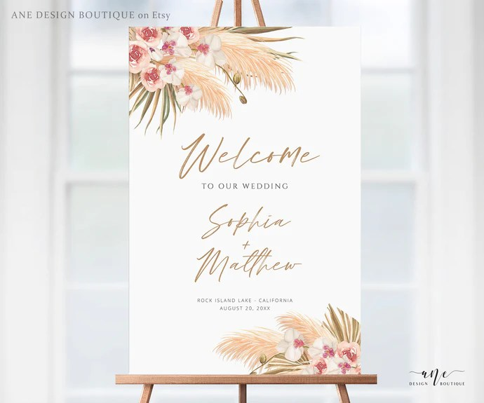 welcome signs ane design boutique