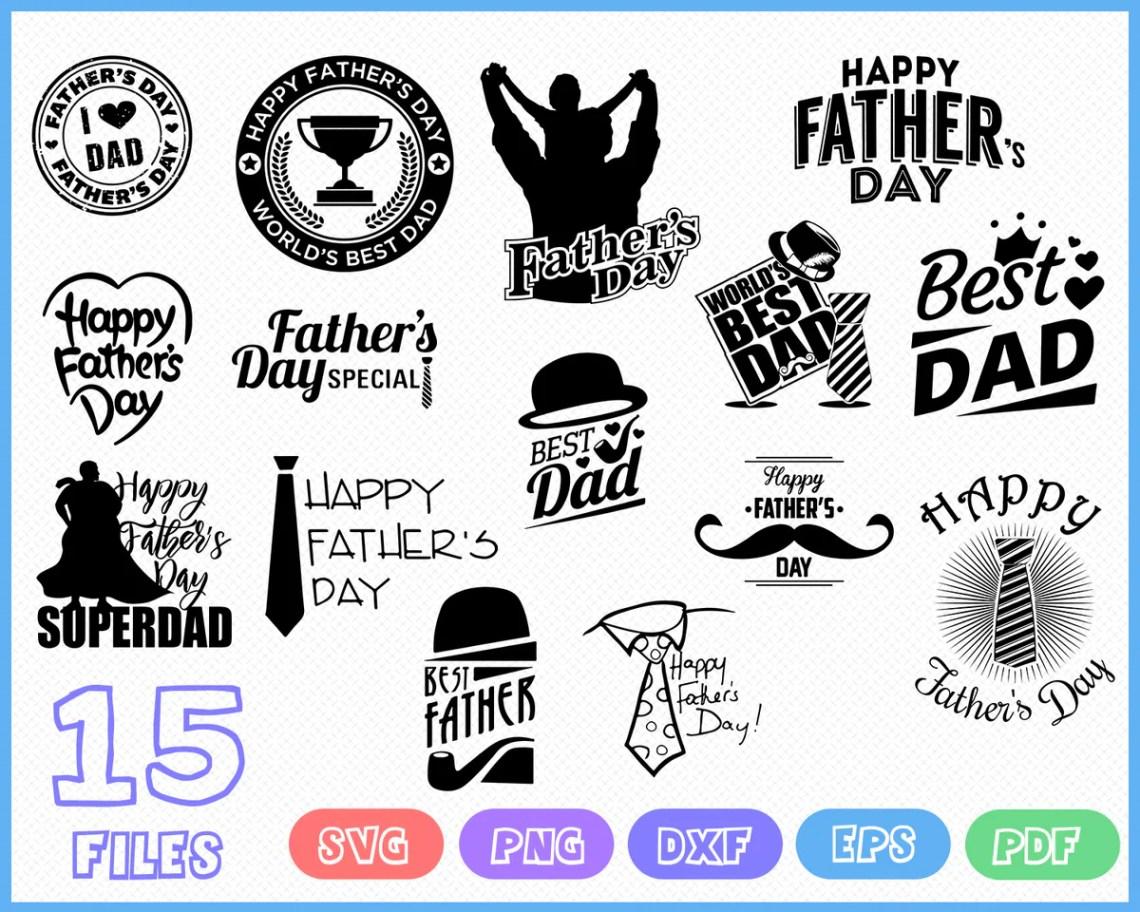Download FATHER DAY SVG, Svg Bundle, love Dad svg pack cut files ...