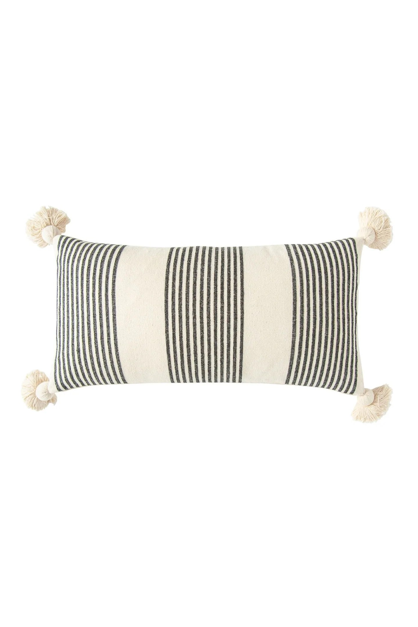 perry striped lumbar pillow