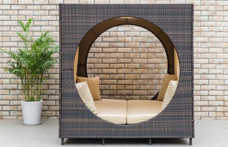 chessani cube patio daybed with cushions cg1489