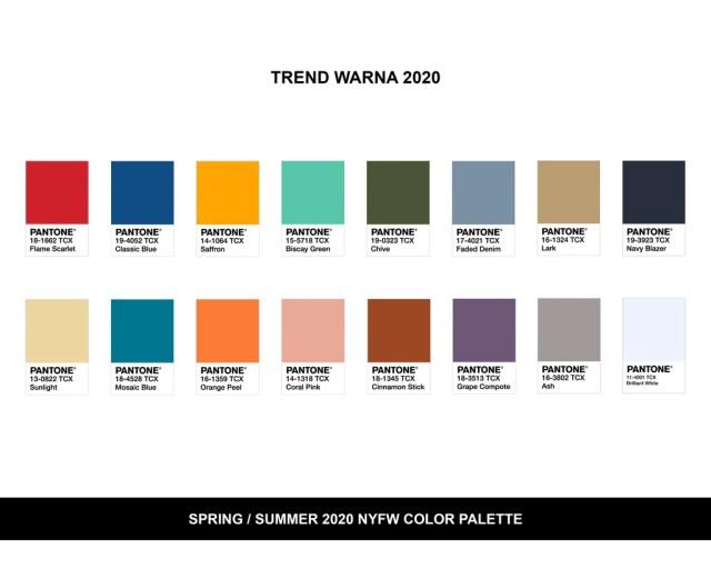 Trend Warna Raya 2020