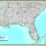 Southeastern United States Atlas Wall Map Maps Com Com