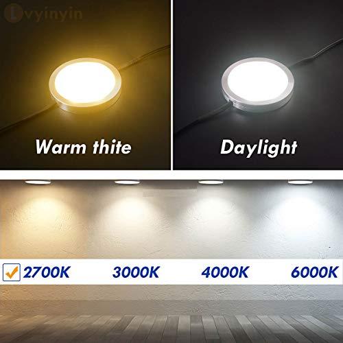 under cabinet lighting linkable led puck lights dimmable hardwired directnine europe