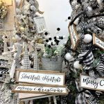 Black And White Christmas Decorations Trendy Tree