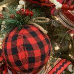 Buffalo Check Cozy Cabin Christmas Decor Trendy Tree