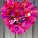 Tulle Valentine Wreath Tutorial Trendy Tree