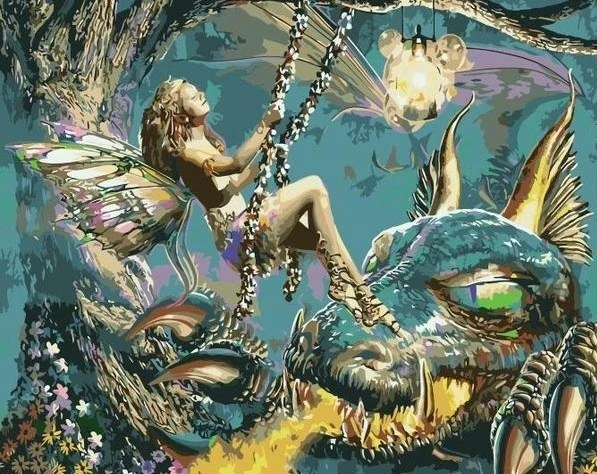 Feen Malen Elfen Malen Wie Malt Man Eine Fee Fantasy Art
