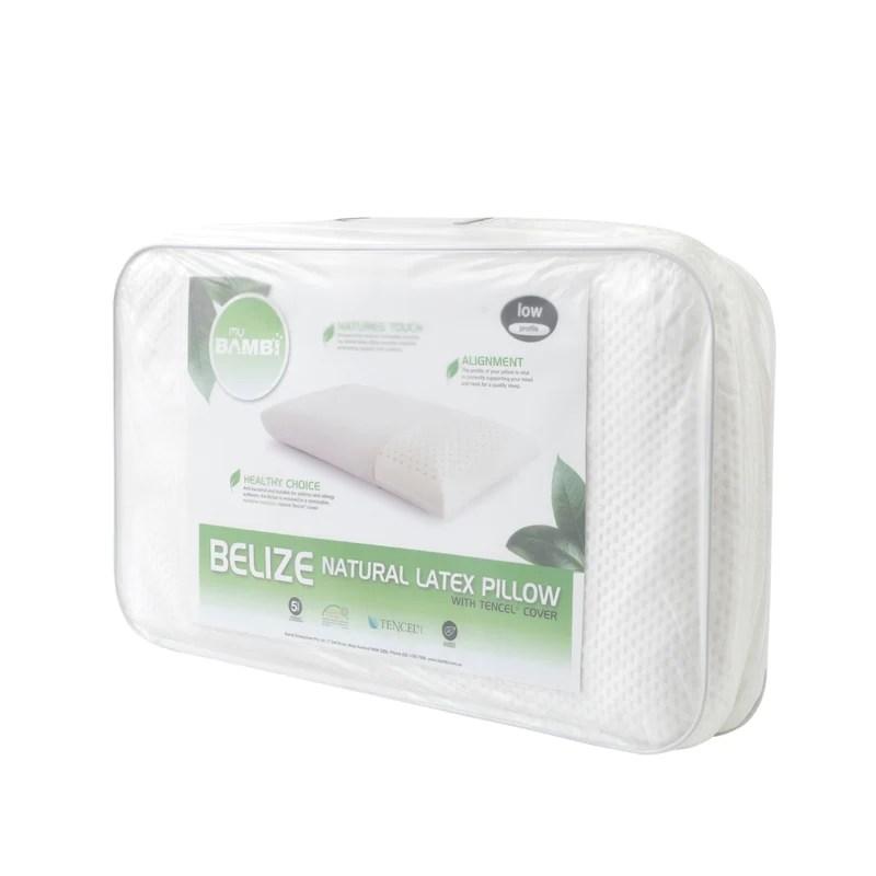 bambi belize natural latex pillow
