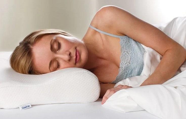 tempur side sleeper pillow