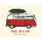 Peace Love Joy Holiday Card The Good Days Print Co The Made In Canada Store