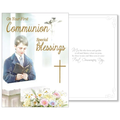 first holy communion gifts and cards