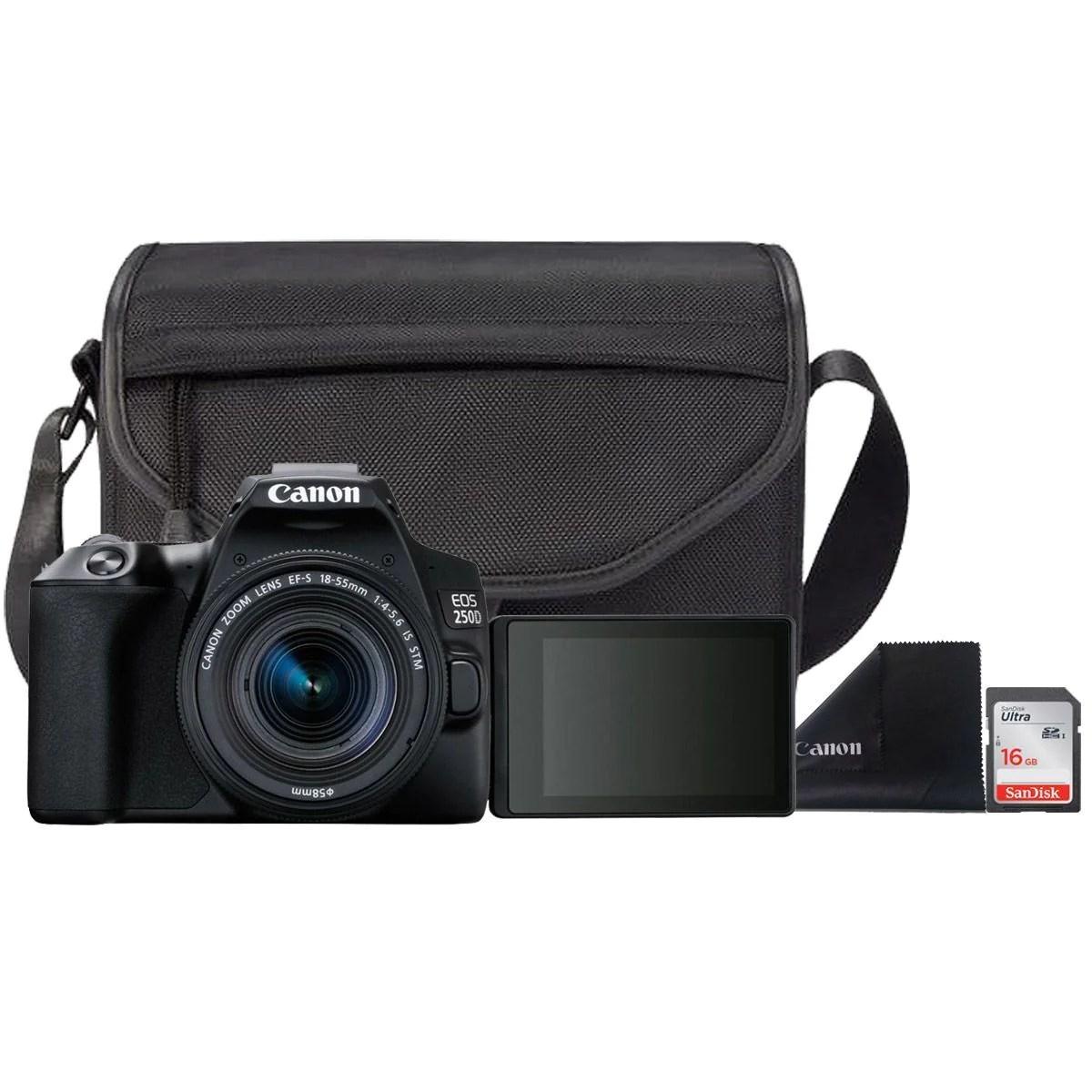 Canon EOS 250D Essential Travel Kit – Camera Crew Store