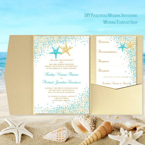 Save Date And Invitation Sets