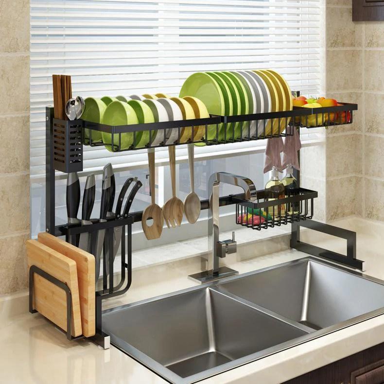 dish sink drain rack