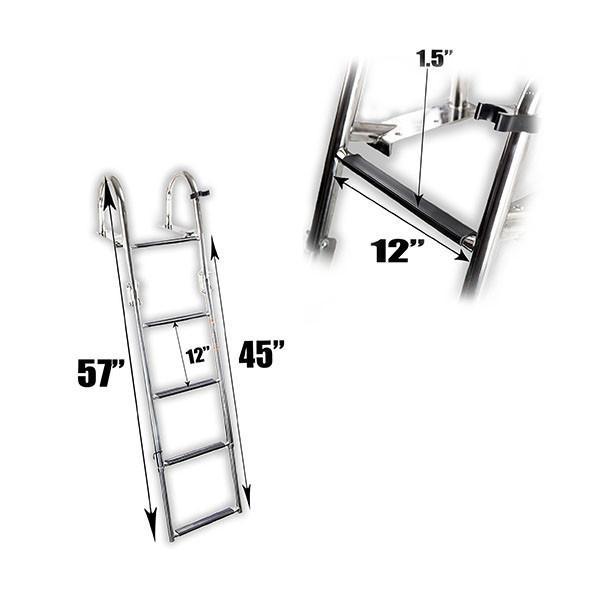 Boat Telescoping Step 4 Ladder