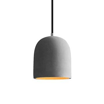 Lustre en ciment vintage, abat-jour en béton moderne industriel avec abat-jour gris antique simple ombre industrielle lustre restaurant restaurant restaurant lustre (Style : C)