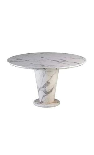 CAMINO A CASA - Table à Manger Plateau Rond marbre Core