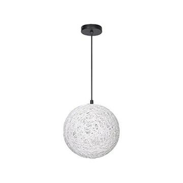Ampoule de chanvre lustre restaurant barre de table corde lustre salon éclairage pépinière allée lampes créatif coloré E27 * 1 simples lampes de rotin Art suspendu à la corde 120cm réglable (# 3-60)