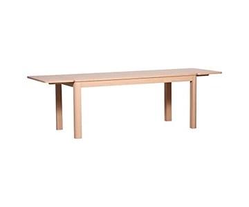 KEO Malo Table de séjour 8 Personnes et avec Les 2 allonges (vendues séparement) 12 personness, Bois, 180 x 90 x 77 cm