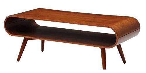 AG-Market Table Basse Vilda - Pieds Noyer - Coloris Noyer