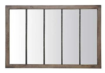 Miroir Atelier 5 Bois ET Metal Use XXL 90x140