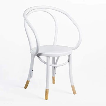 SKLUM Chaise Teno avec accoudoirs Blanc - (Plus de Couleurs)