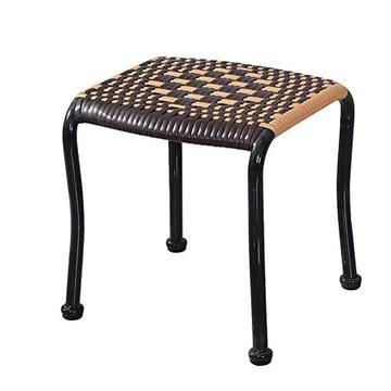 LEBAO-Small stool Petit Tabouret Petit Banc-Tabouret Bas De Loisirs De Tabouret De Rotin D'imitation en Plastique pour Le Banc De Chaussures