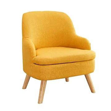 WXL Canapé Paresseux - canapé Simple Paresseux Amovible Balcon Chambre Chambre Mini Casual Petit canapé (Color : Yellow)