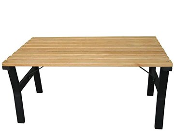 Home, Table, Bois, Anthracite
