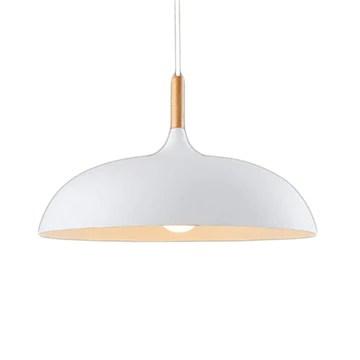 E27 Plafonnier Luminaire Suspensions Lampe Blanc Vernis Suspensions Luminaire Contemporain Suspensions Lampe
