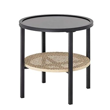 Bloomingville Table d'appoint Renata Noir